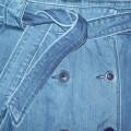 Niebieska jeansowa spódnica