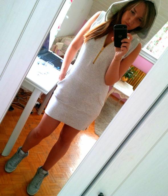 Mój styl dresowa sukienka