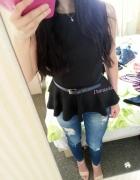 Baskinkowo jeansowo