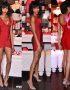 Sukienka bandażowa czerwona Herve Leger