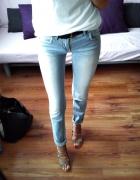 Spodnie jeansy pull&bear S M