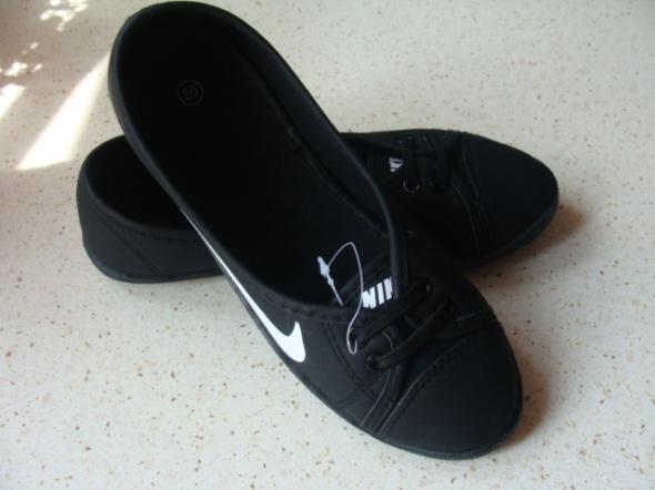 baletki czarne nike