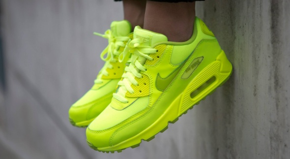 Nike Air Max 90 neon żółty lime jaskrawe w Sportowe Szafa.pl