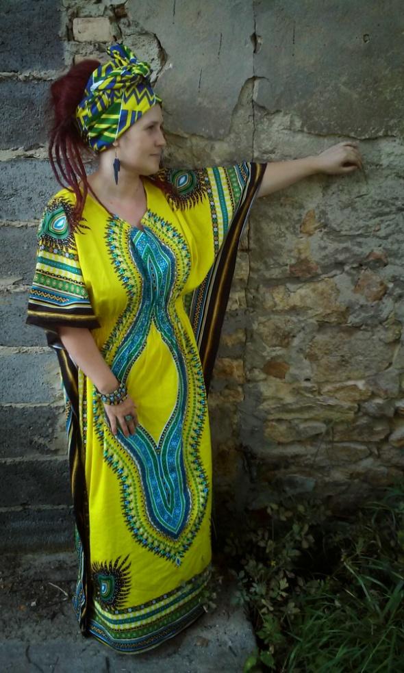 Codzienne Afrykański kaftan