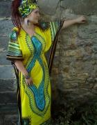 Afrykański kaftan...
