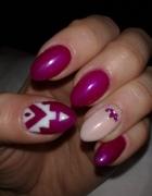 Moja stylizacja paznokci...