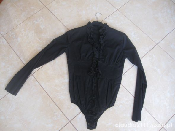 koszula body czarne