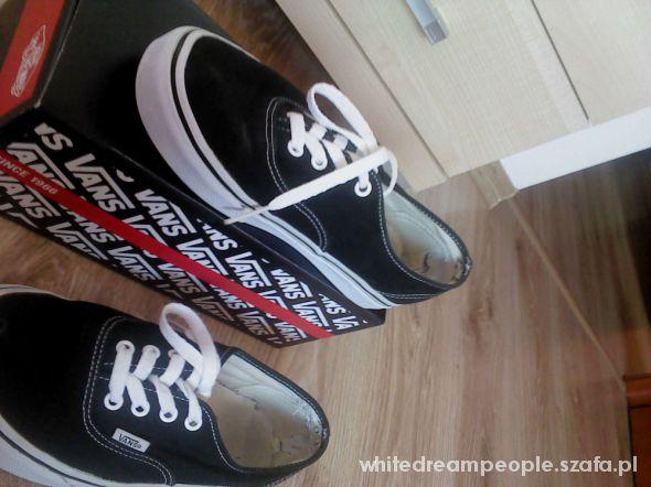 vans authentic czarne 38