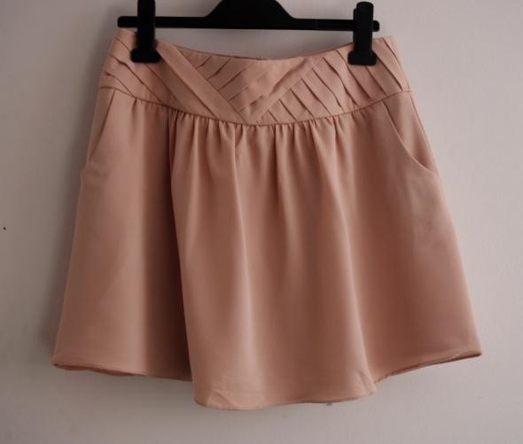 Spódnice Spódnica nude szyfonowa L