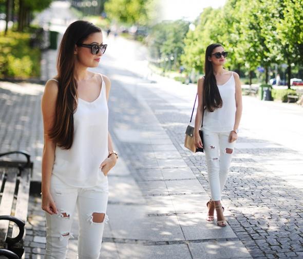 Blogerek Total white