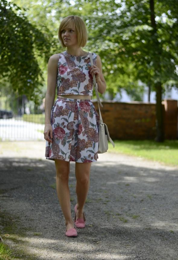 Blogerek floral set