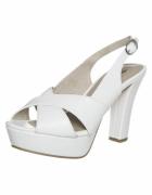 Białe sandały na platformie 38 Tamaris...