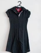 Granatowa sportowa sukienka Tommy Hilfiger