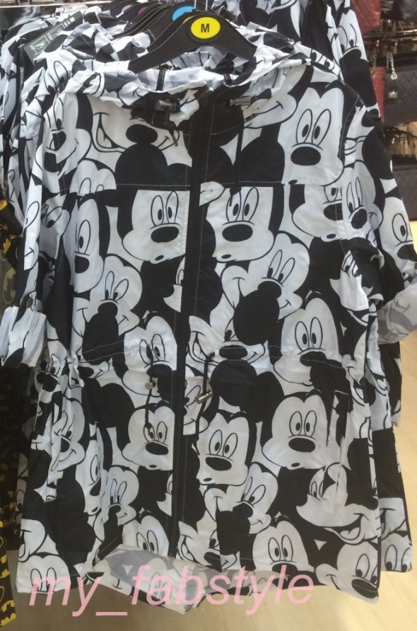 Parka Mickey mouse