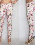 Kwiatowe spodnie