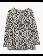 Żakardowa bluza