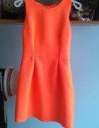 Neonowa sukienka Mohito