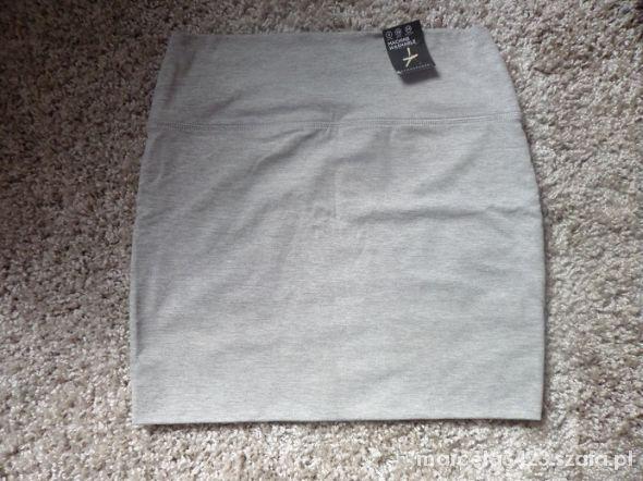 Spódnice szara dopasowana spódniczka 36 primark