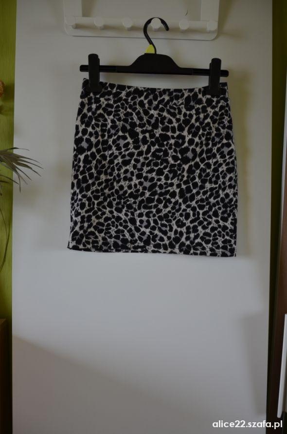 Spódnice H&M spódniczka w panterkę