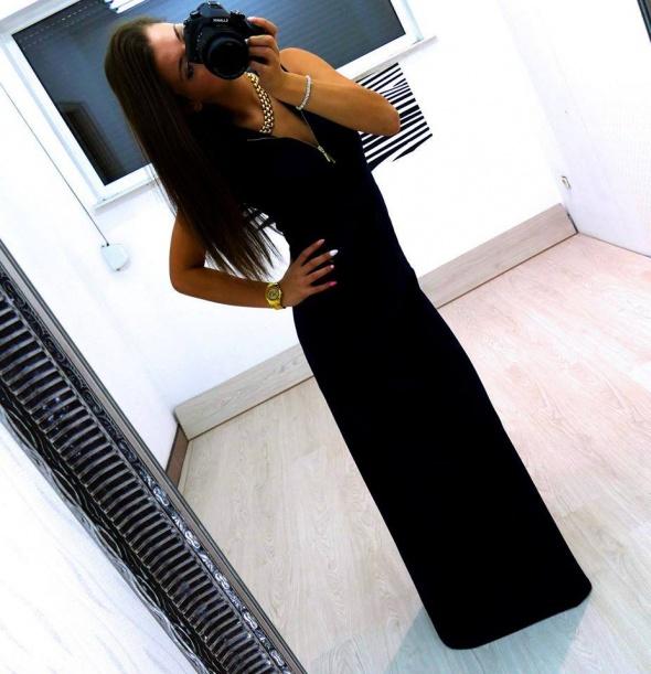 Na specjalne okazje Maxi dress black