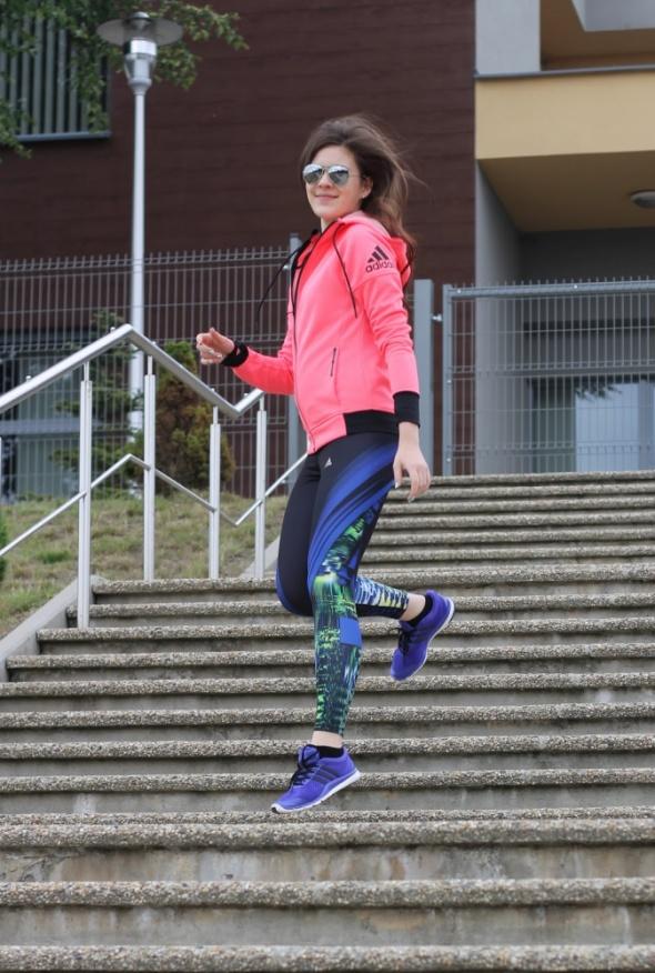 Blogerek Adidas total look