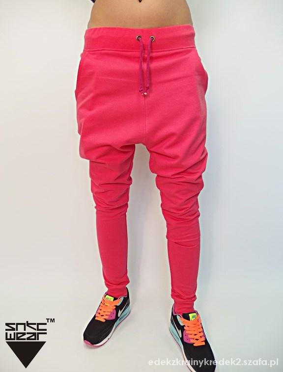 Spodnie baggy you can dance kolory taniec damskie
