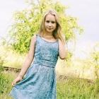 Ala dżinsowa sukienka