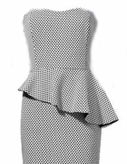 Sukienka Orsay z baskinką...