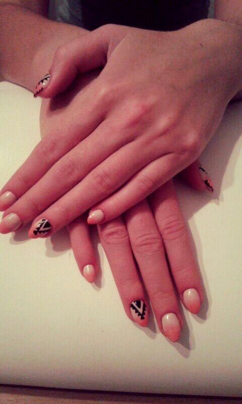 my nails aztec...
