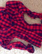 KRATA koszula czerwono czarna HIT