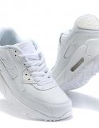Białe Air maxy