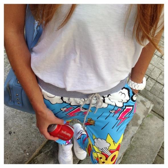 Codzienne Spodnie Boom