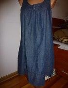 Jeansowa sukienka r 40 L Lindex