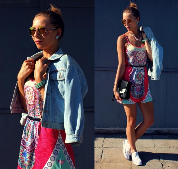 Blogerek Colorfull dress