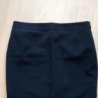 Czarna spódnica ołówkowa PAPAYA 40 L