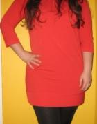 Śliczna czerwona sukienka rozmiar 4042