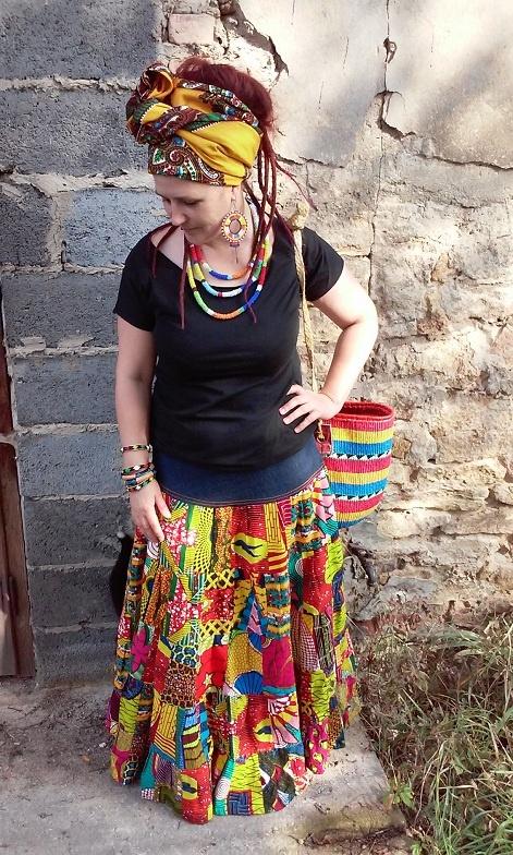 Codzienne Wszystkie kolory Afryki