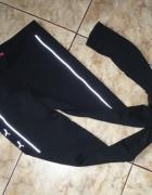PUMA spodnie legginsy czarne XS S