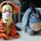 Tygrysek i Kłapouchy kłapouszek tygrys osiołek