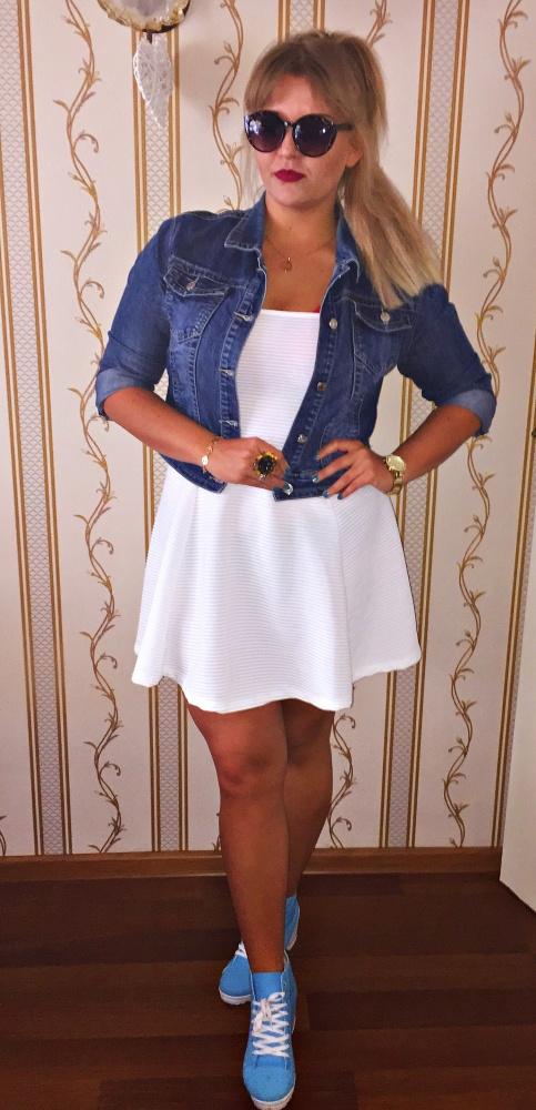Mój styl white & blue