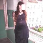 Czarna spódnica do kostek goth