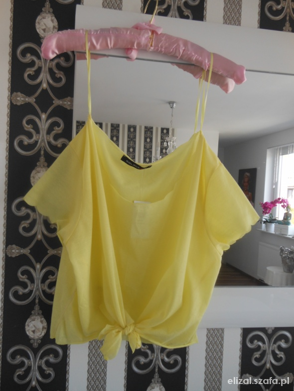 Świetna Lemon Narzutka Oversize Neonkowa