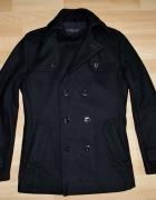 ESPRIT COLLECTION czarna kurtka wełna 48