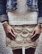 Cekinowa spódniczka Victoria Secret XL 42...