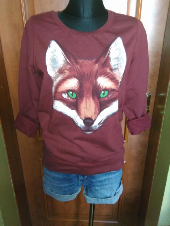 Sportowe bluza z lisem