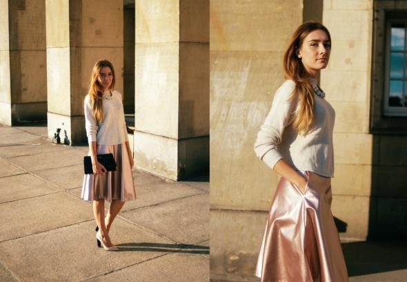 Blogerek Pink metallic