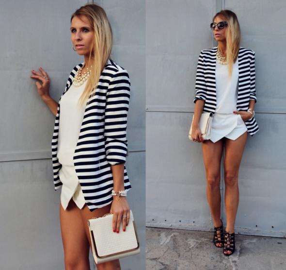 Blogerek Striped blazer