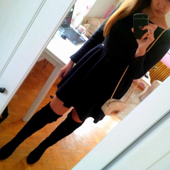 Mój styl Czarna sukienka