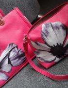 torebka kwiaty 2w1