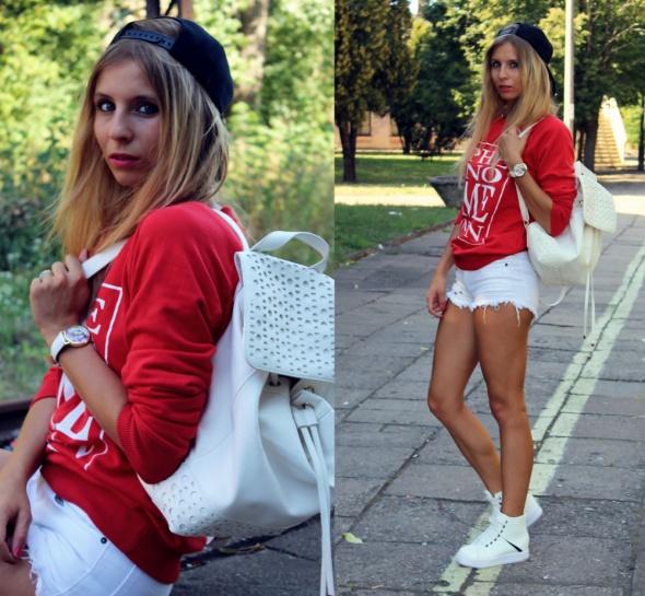 Blogerek Czerwona bluza